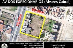Terreno Avenida dos Expedicionários (Álvares Cabral)